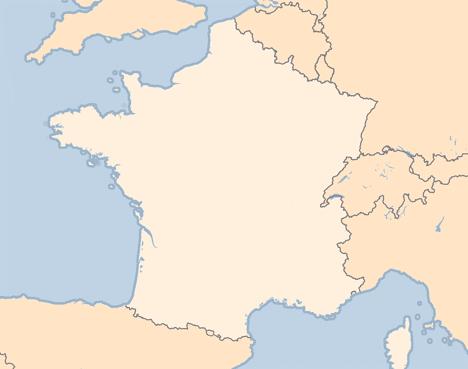 frankrike kart Frankrike   reiser til Frankrike. Fly, hotell og charter  frankrike kart